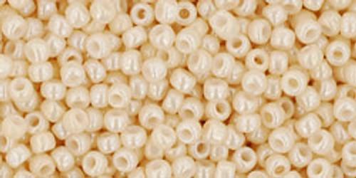 Toho Bulk Beads 11/0 #432 Opaque Lustered Light Beige 250g