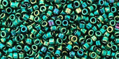 Toho Seed Beads #1 Treasures Higher Metallic June Bug 100 gram