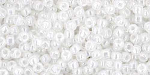 Toho Seed Beads 11/0 Round #433 Ceylon Snowflake 20 grams