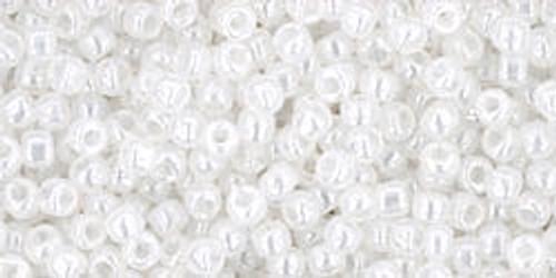 Toho Seed Beads 11/0 Round #433 Ceylon Snowflake 250 grams