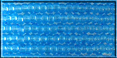Czech Glass Seed Beads 11/0 Aqua Transparent 1 Hank