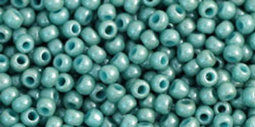 Toho Bulk Seed Beads 11/0 Rounds #274 Opaque-Lustered Lagoon 250g