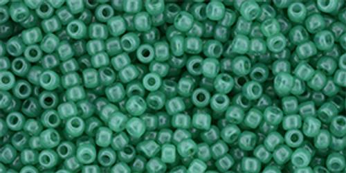 Toho Seed Beads 11/0 Milky Lush Meadow 50 grams