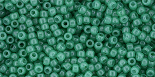 Toho Seed Beads 11/0 Milky Lush Meadow 250 grams
