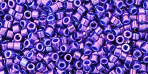 Toho Seed Beads #1 Treasures Royal Purple Gold Luster 50g