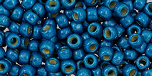 Toho Beads 8/0 #231 Perm Finish Matte Turkish Blue 50g