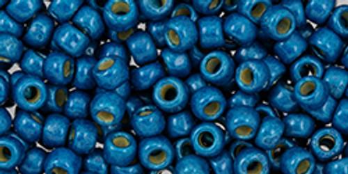 Toho Beads 8/0 #231 Perm Finish Matte Turkish Blue 50g