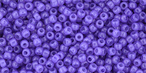Toho Seed Beads 11/0 #446 Milky Bodacious 20 grams