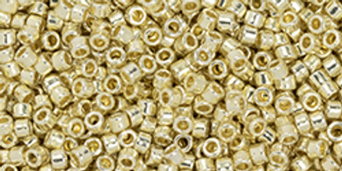 Toho #1 Treasure Perm Fin Galvanized Aluminum 100 gram