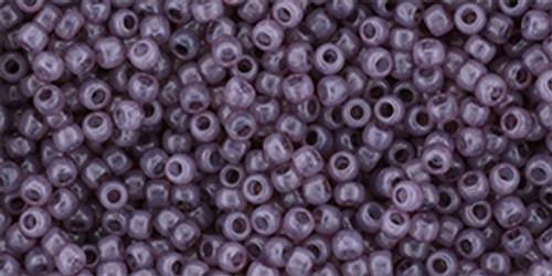 Toho Seed Beads 11/0 #447 Milky Dusty Cedar 20g