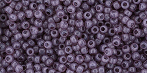 Toho Seed Beads 11/0 #447 Milky Dusty Cedar 50g