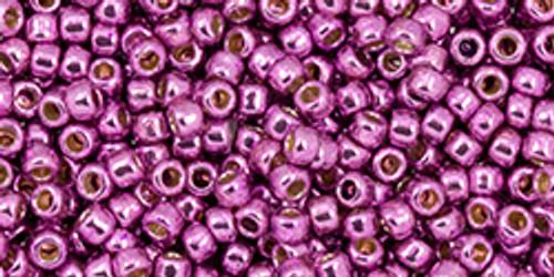 Toho Seed Beads 11/0 #451 Permanent Finish Galvanized Sugar Plum 20g TR-11-PF580