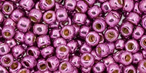 Toho Beads 8/0 #236 Perm Fin Galvanized Sugar Plum 20g