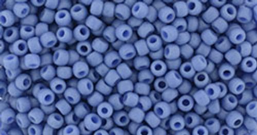 Toho Seed Beads 11/0 #454 Semi Glazed Soft Blue 50g
