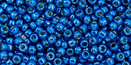Toho Beads 11/0 #455 Perm Fin Galvanized Ocean Blue 50g