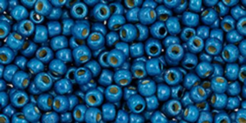Toho Beads 11/0 #457 Perm Fin Matte Turkish Blue 250g