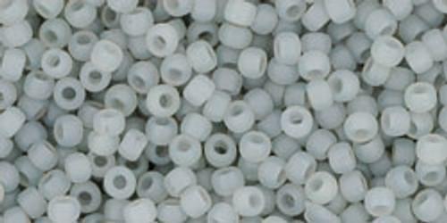 Toho Seed Beads 11/0 Ceylon Frosted Smoke 8 gram