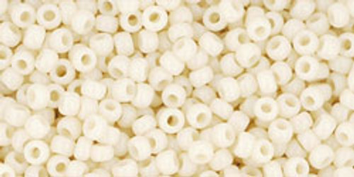 TOHO Seed Beads 11/0 Rounds #158 Opaque Light Beige 250 grams