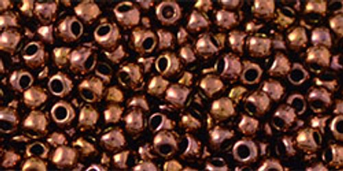 Toho Seed Beads 11/0 # 357 Rounds Olympic Bronze 250 gram