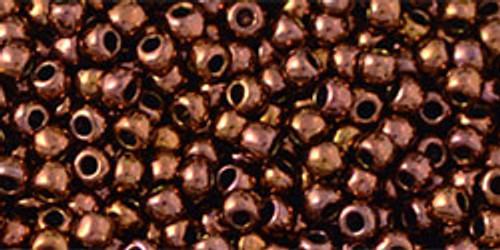 Toho Seed Beads 11/0 # 357 Rounds Olympic Bronze 250 gram