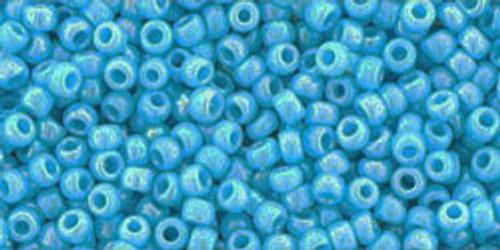 Toho Seed Beads  11/0 Rounds #170 Opaque-Rainbow Blue Turquoise 250g