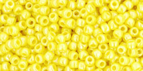Toho Seed Beads 11/0 Rounds Opaque Rainbow Dandelion 8 gram