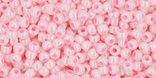 Toho Seed Beads 11/0 #467 Opaque Luster Baby Pink 250g