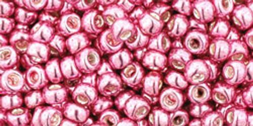 Toho Seed Beads 8/0 #250 Galvanized Pink Lilac 20 gram