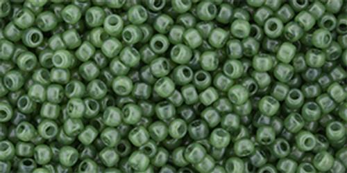 Toho Seed Beads 11/0 #472 'Milky Greenery' 20 gram