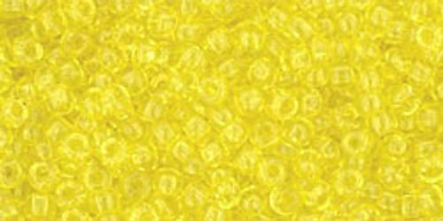Toho Seed Beads 8/0 #257 Transparent Lemon 50 gram