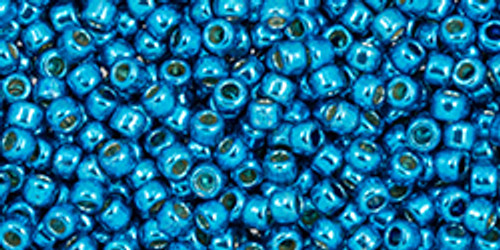 Toho 11/0 #476 Perm Fin Galvanized Caribbean Blue 20g