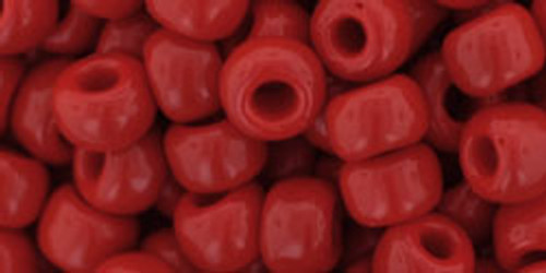 Toho Seed Beads 3/0 Opaque Pepper Red 250 grams