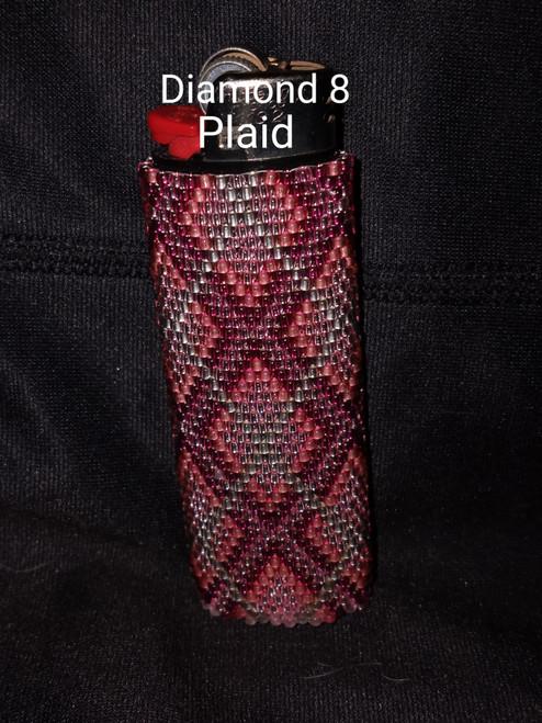 Toho Seed Bead 11/0 29AF, 28, 2223 and 2201 woven with Toho One G thread.