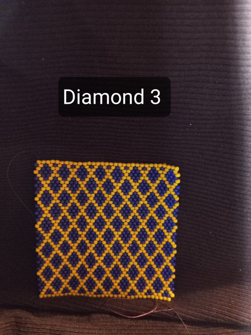Toho Seed Bead 11/0 48 and 42 woven with Toho One G thread.
