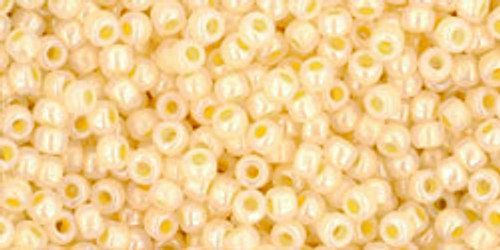 Toho Seed Beads 11/0 Rounds Ceylon Custard