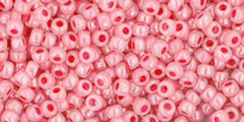 Toho Seed Beads 11/0 Rounds Ceylon Impatiens Pink