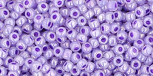 Toho Seed Beads 11/0 Rounds Ceylon Gladiola