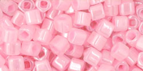 Toho Seed Beads Cubes 3mm Ceylon Innocent Pink
