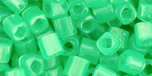 Toho Seed Beads Cubes 4mm Ceylon Jade