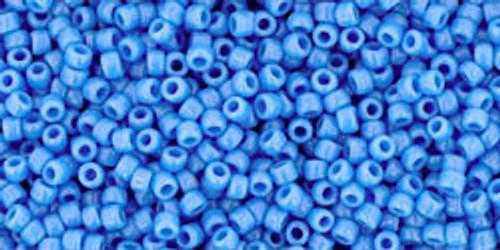 Toho Seed Beads 15/0 Rounds Opaque Cornflower