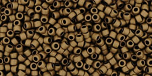 Toho Seed Beads 15/0 Rounds Matte-Color Dark Copper