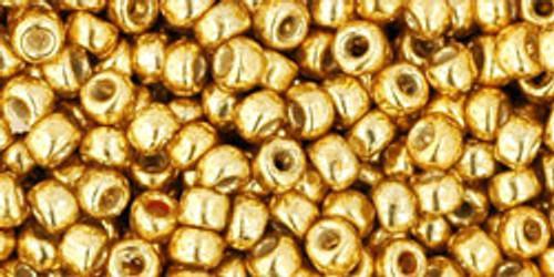 TOHO Seed Beads 6/0 Rounds Permanent Finish Galvanized Starlight