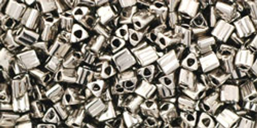 TOHO Seed Beads Triangles 11/0 Nickel