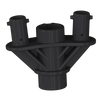 DuraBalloon® Twist-Lock Cluster Bracket (Two Included with this Universal DuraBalloon® Twist-Lock Cluster Pole)