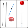 """Kit includes: (1)  18"""" DuraBalloon® in any color (1)  Upper Holding Cup (1)  30"""" Flexible Fiberglass Push-Button Stem with Security Screw (1)  48"""" Aluminum Long Pole (1)  Ground Mounting fiberglass ground stake with StakeMate plate"""