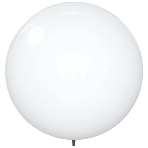 "18"" WHITE BALLOON BOBBER DURABALLOON REPLACEMENT"