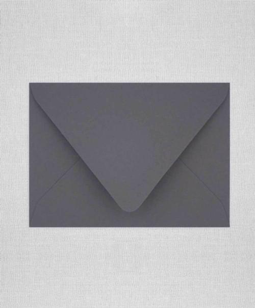 Grey Envelopes, Grey Euro Flap Envelopes, Gray A2