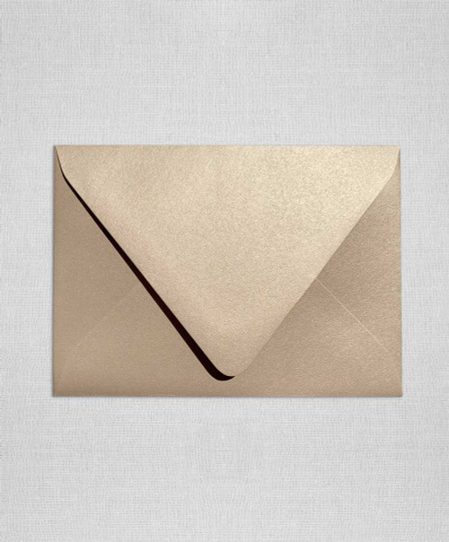 Sand Metallic Envelopes, Sand Metallic Euro Flap Envelopes, Sand Metallic A6, Gold Metallic Envelopes