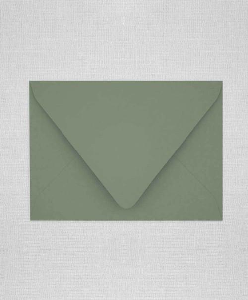 Mid Green Envelopes, Mid Green Euro Flap Envelopes, Mid Green A7.5
