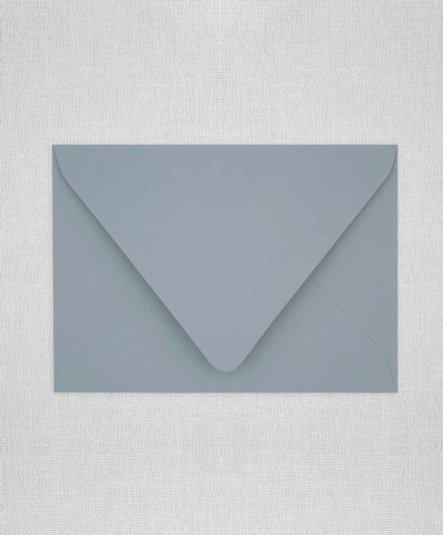 Dusty Blue Envelopes, Dusty Blue Euro Flap Envelopes, Dusty Blue RSVP